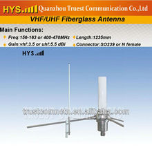 High gain dual band fiberglass antenna 2m 70cm TCJ-GB-3-159.5V-1