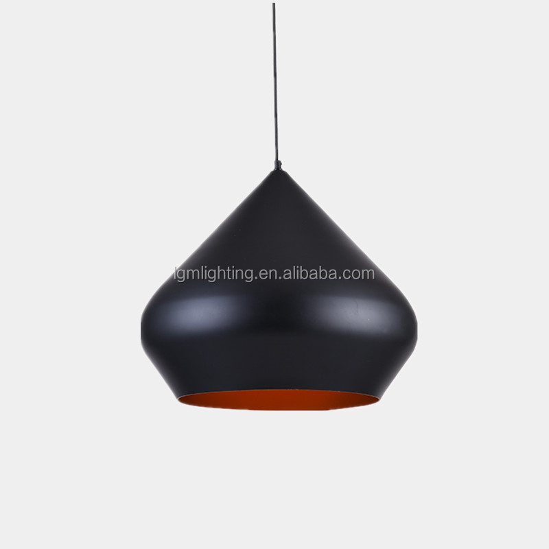 Welcomed pendant light with factory price aluminum pendants finish in white black grey