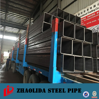 welded furniture tube ! manufacture black hollow steel tubes unit weight square tube