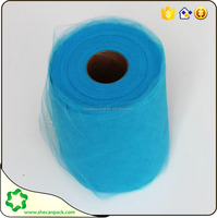 SHE CAN PACK several soft tulle fabric 100 polyester wrappings