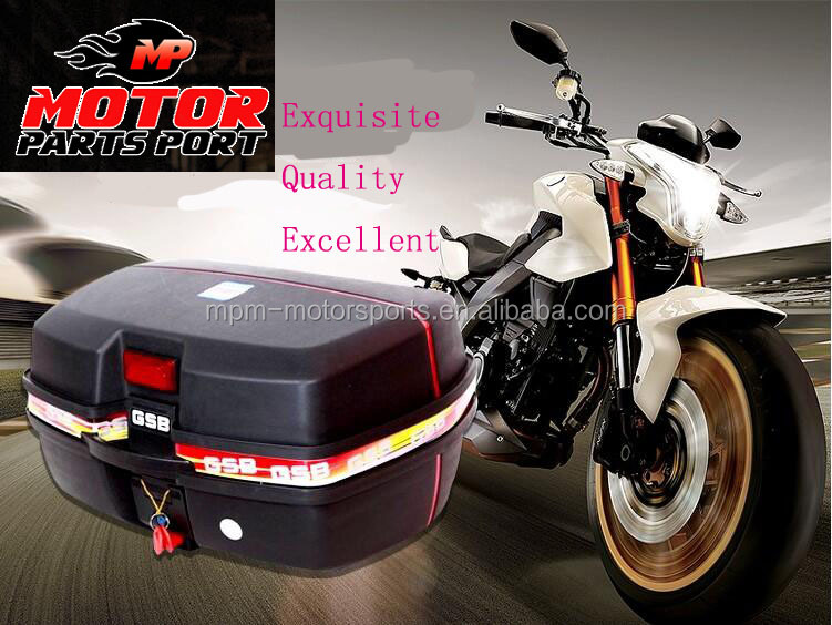 48L Large Capacity Motorcycle Tail Box scooter rear top case/tail box