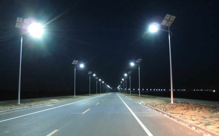 Outdoor IP65 solar LED suburb road lighting