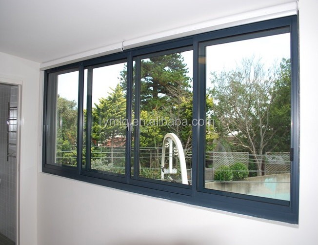 tempered window glass aluminum