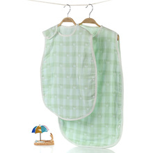 Spring Summer use 100% cotton newborn infant baby sleeping bag