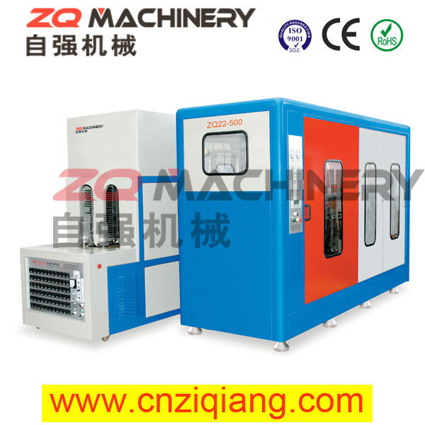 stretch blow molding machine for chinese herbal shampoos