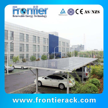 The latest Green energy products the latest soalr wind resistant carport
