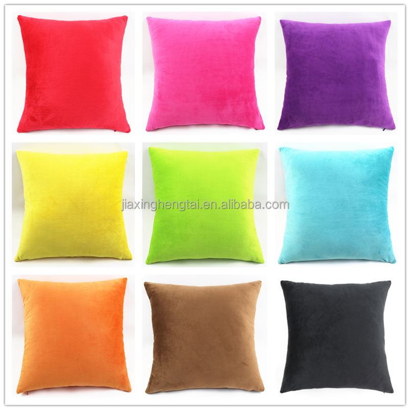 polyester weichen kissen dekorativ pinky farbe sofa gro e. Black Bedroom Furniture Sets. Home Design Ideas