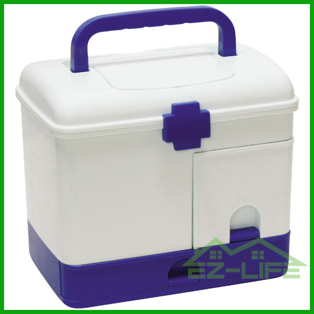 home living cheap hot sale top quality home use blue plastic storage box for small parts