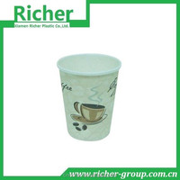 cold drinking paper material colourful paper cups China plant made