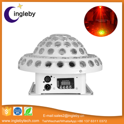 wholesale alibaba Rotating Strobe LED Crystal stage light for Disco club bar DJ ball Bulb Multi changing Color