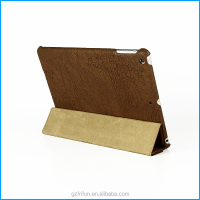 Brown new arrival case for ipad air,for ipad 6 case,for ipad mini case