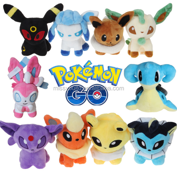 Spot wholesale cheap mini pokemon toys plush