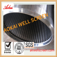 water and oile well wedge wire screen ,stainless steel mesh filters,Johnson screen