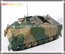 Hot Sale 1:72 scale 120MSP die cast military tank model