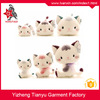Customized wholesale cute stuffed animal toys plush cat with low price