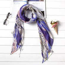 Hot Sale Lady Custom Designed Fashionable Silk Scarf
