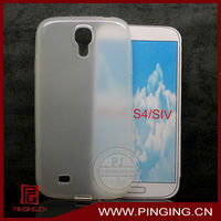 Transparent jelly TPU camo case for samsung galaxy s4 i9500