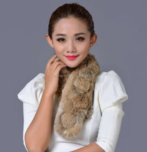 raccoon real fur scarf/fashional and new style 100% fox fur scarves for women ladies in winter/acrylic knitted neck warmer