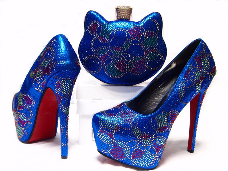 AB5392#4 italian matching shoes and bags 2016