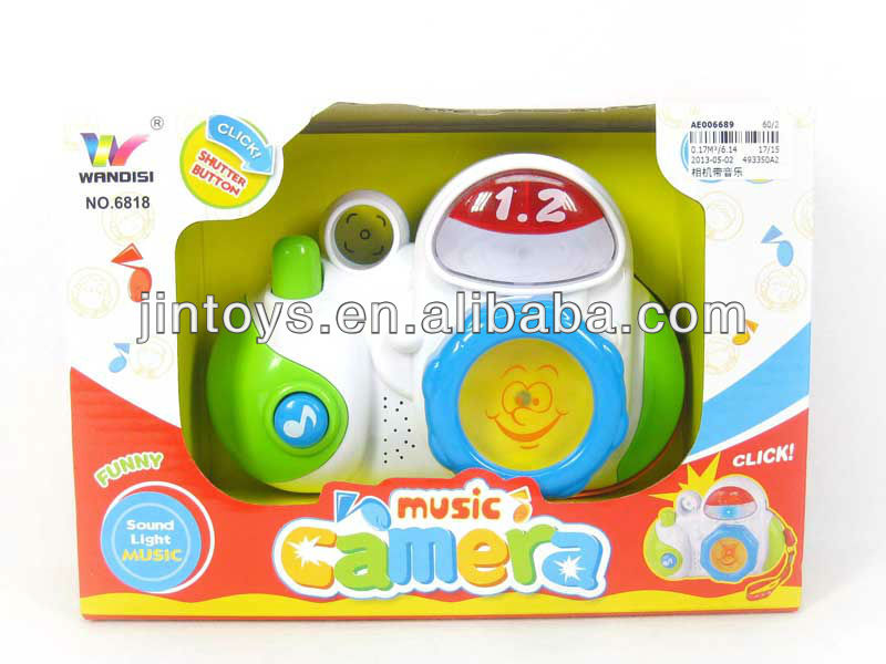 Electronic Camera,Toy Camera with Music,Plastic Mini Camera for kids