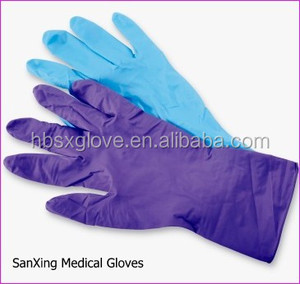 nitrile gloves cheap purple disposable malaysia purple pink exam fda