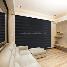 Europen style High quality ZEBRA BLINDS Polyester Rainbow Series Zebra Curtain Blinds/Double Roller Blind