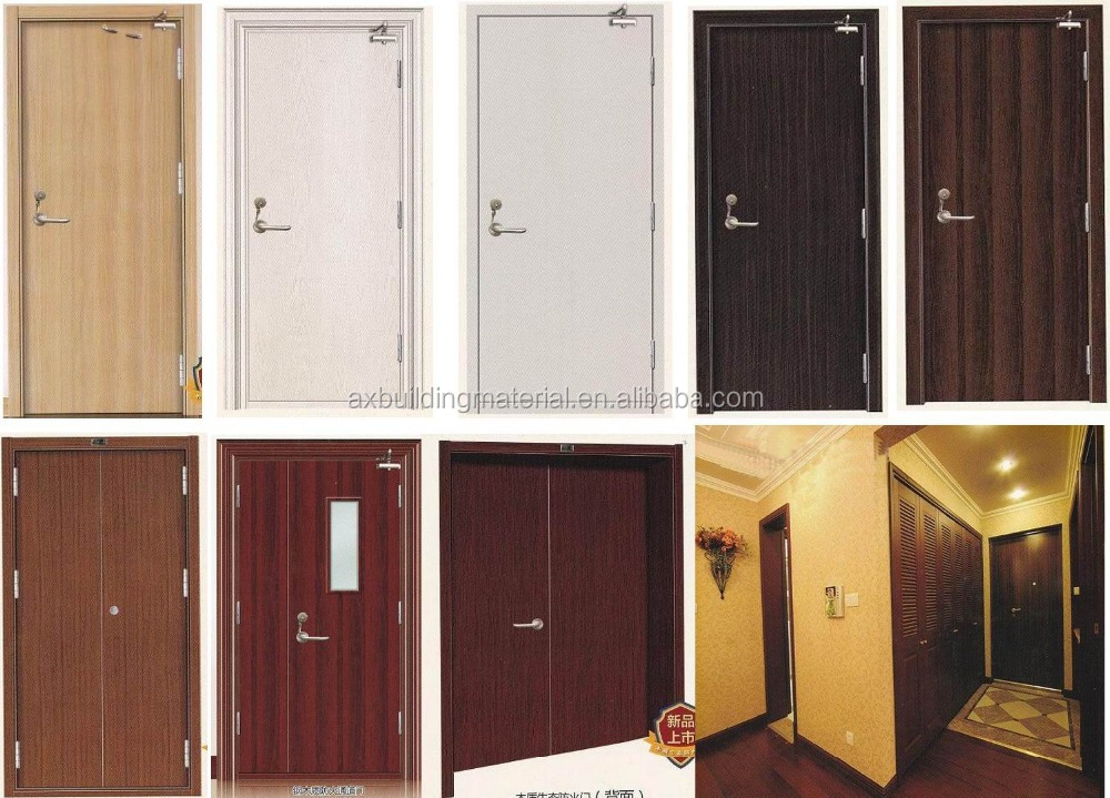 Double Steel Fire Rated Door For Building