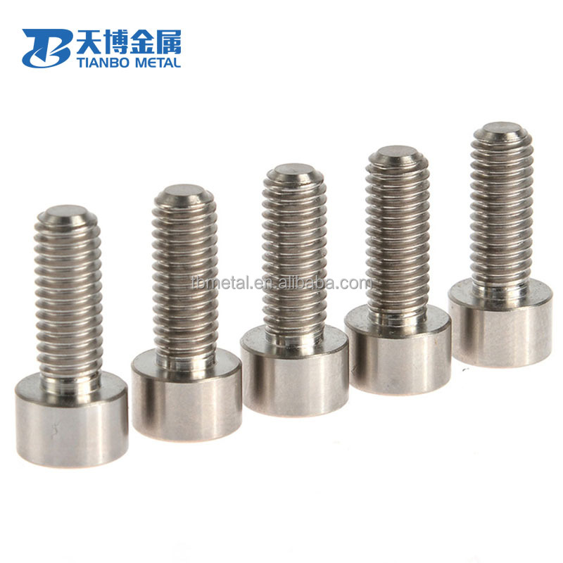 titanium hex head countersunk bolts and nuts, titanium hardware