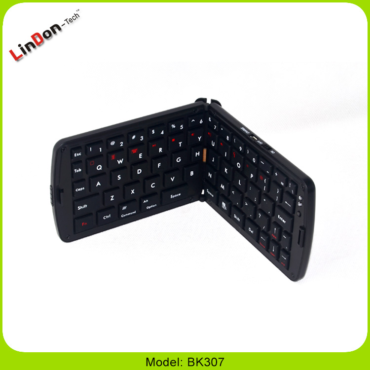 Portable Design Wireless Mini Folding Bluetooth Keyboard For iPad 2/3/4 Android Tablet PC
