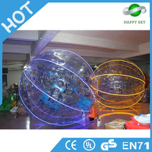 Good quality LED zorb balls,LED human hamster ball,buy a zorb ball uk