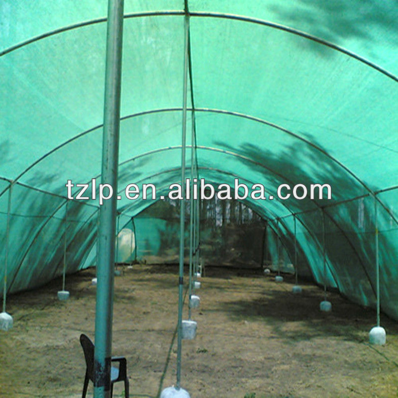 Greenhouse new HDPE vegetable green sun shade netting