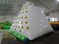 water inflatable iceberg/funny water toys/water climbing games