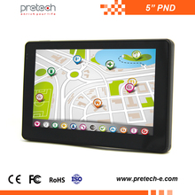 5 inch Android car gps navigation PND