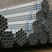 Hot dipped galvanized schedule 40 steel pipe / mild steel pipe with low galvanized iron pipe price
