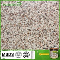 Decorative exterior spray granite wall paint