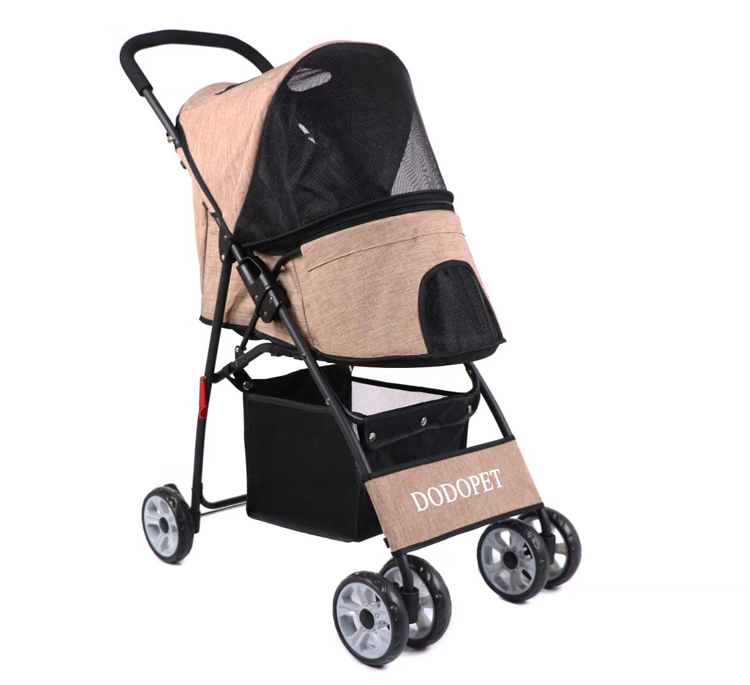 china Luxury Oxford Dog Stroller Pet Trolley Dog Carrier