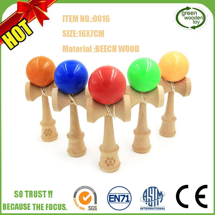 Hot Sale Krom Jumbo Marbled Wooden Kendama,Japanese Traditional Kendama Wooden Toys,Wooden Toys For Adults Kendama