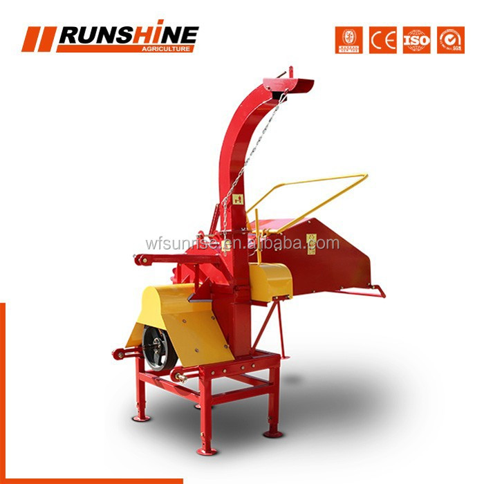 Trustworthy Factory 25-50hp Made Mini Chipper Shredder