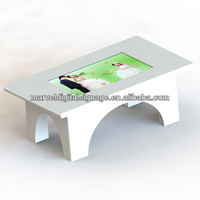 32 inch led touch screen coffee table