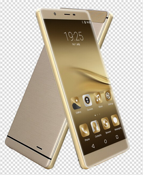 2016 Manufacture New 3G Android Golden White 6 inch Mtk Smart Mobile Phone Cellphone