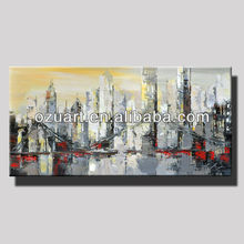 Modern Wall Art Handpainted Abstract Decorative Canvas Painting