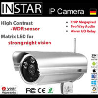 INSTAR H.264 Megapixel IP Camera with Motion Detection P2P Support iPhone iPad