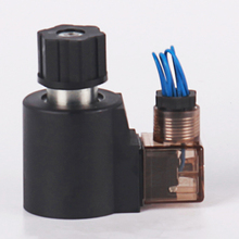 MFZ9-37yc Hydraulic solenoid coil electromagnet 12v dc with factory direct sales price