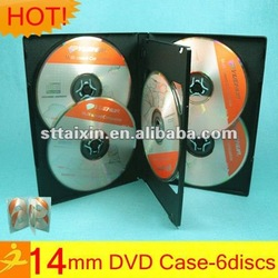 14mm pp wedding cd dvd case 6 discs