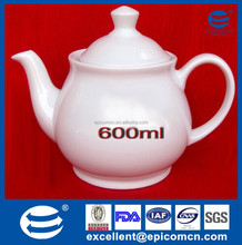 white 600ml antique porcelain coffee pots for restaurant/hotel daily use