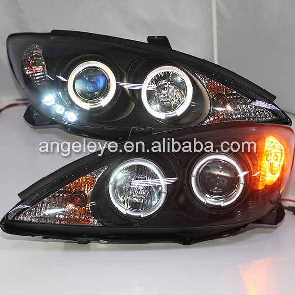 2001-2006 Year For Toyota Aurion Camry LED Head Lamps Black Housing SN