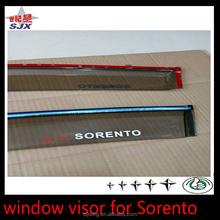 High quality custom injection material durable window visor for sorento