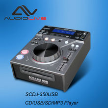 Most popular certificate standard Professional Single DJ CD player with USB connection
