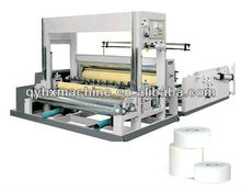 Pneumatic Vertical bobbin paper slitter and rewinder machine