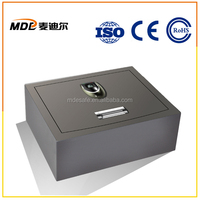 Biometric Fingerprint strong box Price Safes with Decoder and Emergency Key